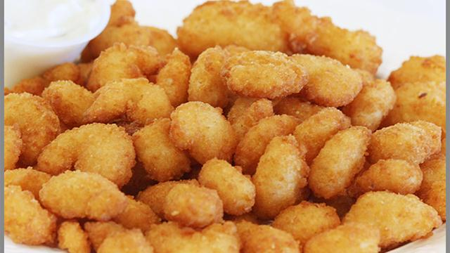 Popcorn Shrimp with Marie Rose sauce | A word in your shell like